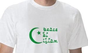 kaos damai islam